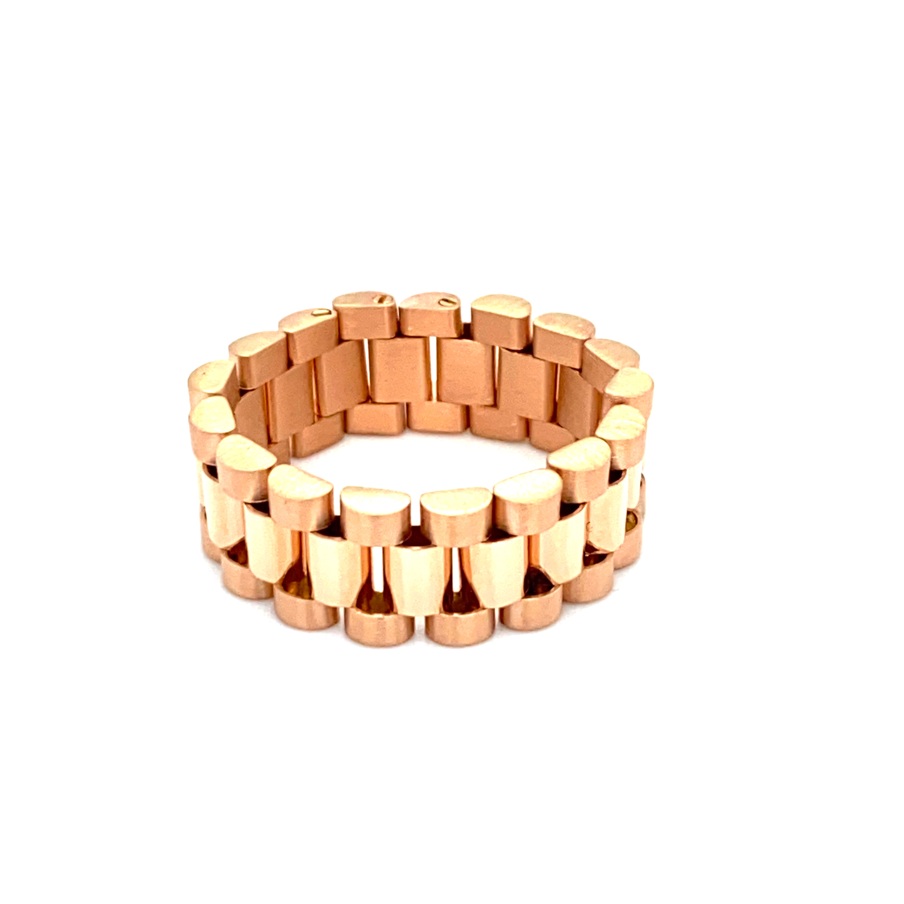 Roségold - Unisex Ring- starting from 990,- €